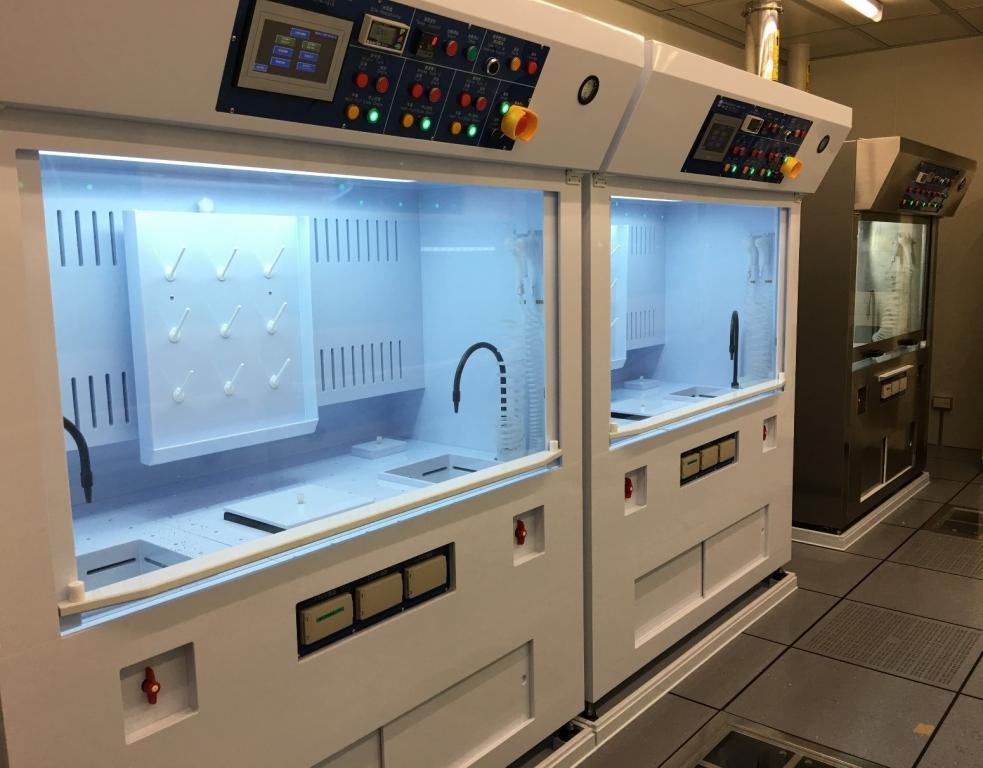國立台灣大學卓越研究大樓-酸/鹼/有機晶片清洗台